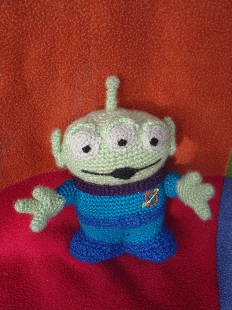 Toy Story Alien Amigurumi Pattern : The Worlds Best Photos of amigurumi and toystory - Flickr ...