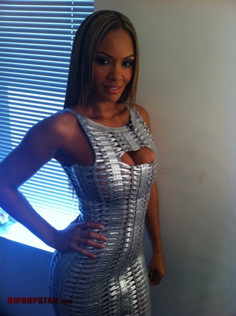 Evelyn Lozada Basketball Wives Season 3 Reunion Show Outfit