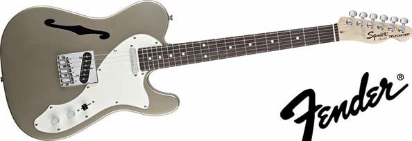 フェンダー新シリーズのエレキギター