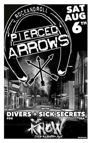 8/6/11 PiercedArrows/Divers/SickSecrets