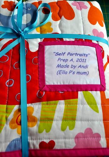 Prep quilt - folded