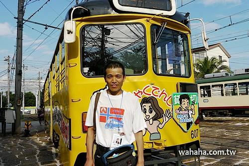土佐電鉄の電車とまちを愛する会‧清水さん