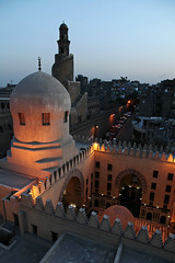 Madrasah of the Amir Sarghatmish, Islamic Cairo, Egypt (aygulmipo) Tags: africa travel tower architecture town photo madrasah minaret islam egypt picture middleeast mosque cairo arab egyptian amir   oldcity islamic worldheritage          sarghatmish