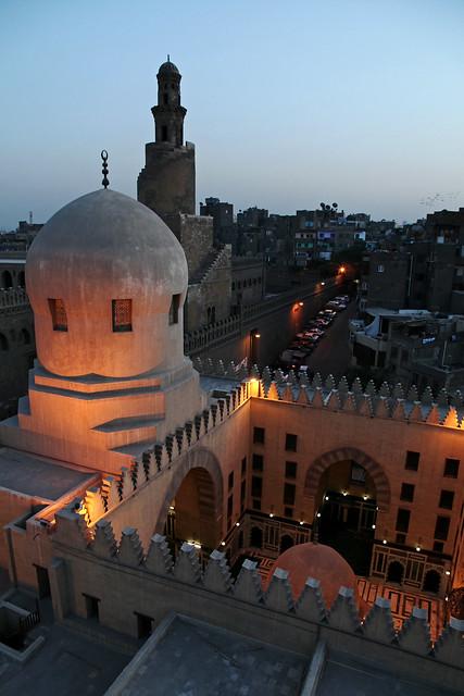 エジプト、カイロ、サルガトミシュのマドラサ