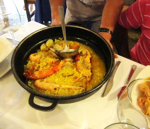 O arroz caldoso... Peñiscola! by sweetfelt \ ideias em feltro