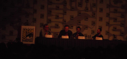 Conan O'Brien at Green Lantern/Flaming C Panel