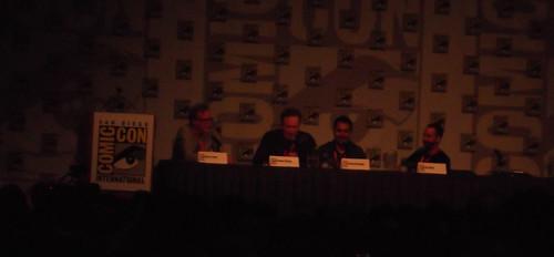Conan O'Brien at Green Lantern/Flaming C Panel