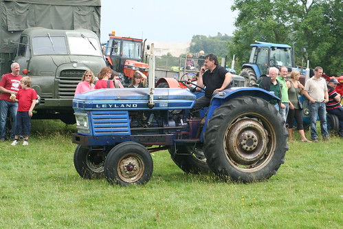 Leyland Nuffield 384 tractor RUN642H