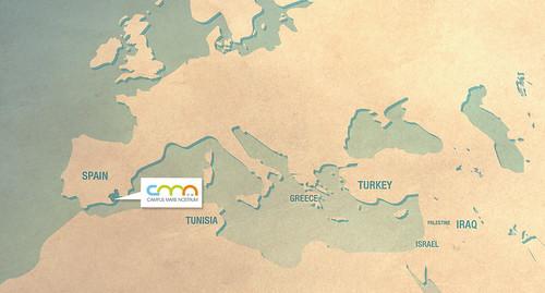 Mapa mediterráneo CMN