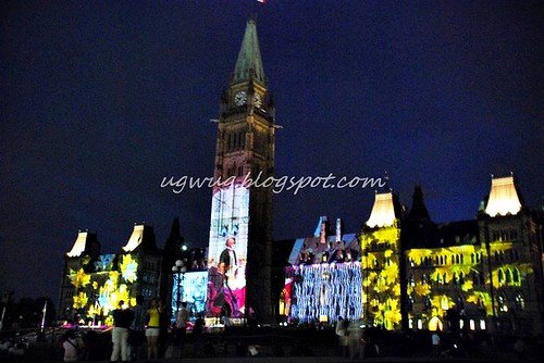 Parliment Buildings Sound & Light show