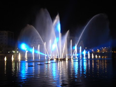 Spectacle jets d'eau