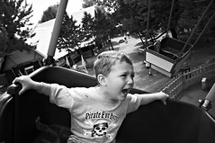 Scary Ride (A.R. Bianchi) Tags: carnival boy nikon child ride dundee il rino santasvillage d300 dundeeil arbianchiphotography