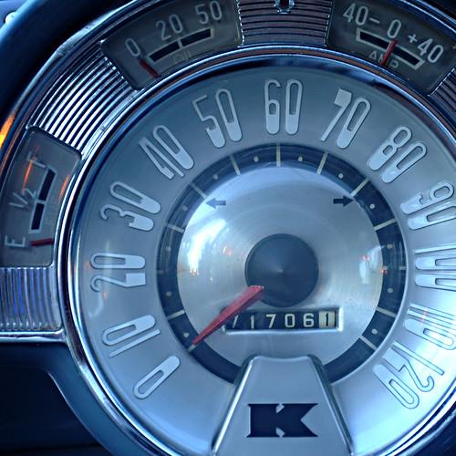 Day 203 - '51 Kaiser Special Speedometer