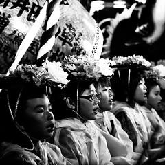 (MT...) Tags: blackandwhite bw monochrome festival japan night square aomori float  hachinohecity bw