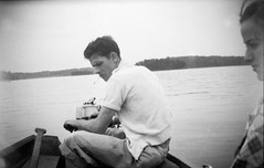 . (shiphome) Tags: summer lake mom dad