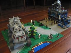 LEGO STAR WARS Droid Base on Saleucami (Jedi Master Productions) Tags: star lego wars base droid youtube saleucami