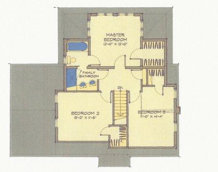 Next in the series of upper floor plans