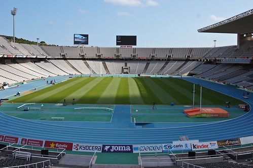 Olympic Stadium in Barcelona Spain