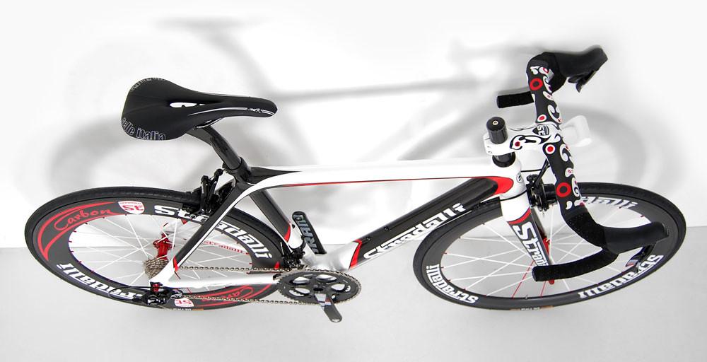 stradalli trebisacce red-pro carbon bike sram red black 50 85 clinchers 4