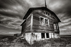 Abandoned (Deej6) Tags: school house abandoned oregon landscape pacific northwest decay central fields homestead boyd dufur platinumheartaward d300s tokina1116