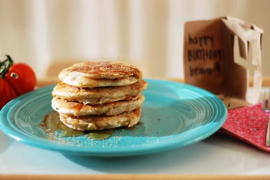 brave's 4th birthday breakfast in bed