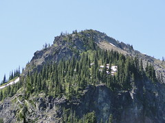 Crystal Peak from Crystal Lakes trail.