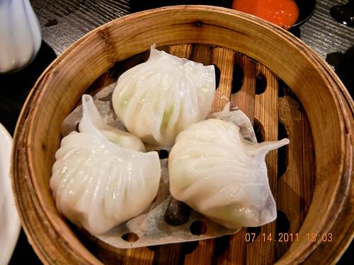 DSCN0370 dim sum :点心 虾饺,har gao