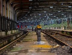 Abandoned Rail Depot London (The Urban Adventure) Tags: urban london track decay rail trains signals depot euston britishrail locomotives urbanexploring urbex railwayyard