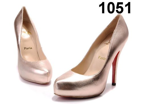 Christian Louboutin-High Hill-Sliver Pink