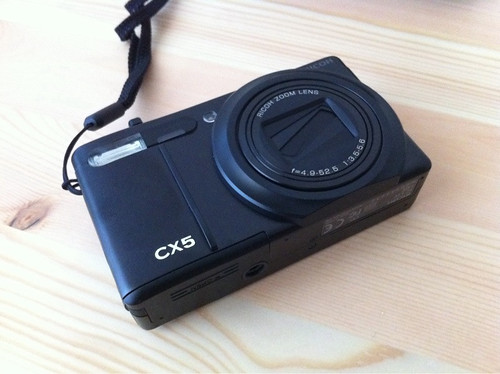 RICOH camera CX5