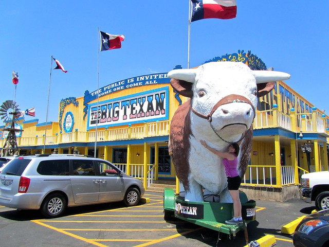Big Texan, Amarillo, Texas