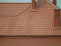 Dach z dachówki ceramicznej / Ceramic tiles roof