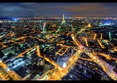 ☞ Montparnasse ☜ (Viewed on HDR Labs) (Vincent.RCT Photographies) Tags: paris tower night nikon cityscape tour view nightscape eiffel tamron montparnasse nuit hdr 1024 colorphotoaward d7k d7000 mygearandme mygearandmepremium mygearandmebronze mygearandmesilver mygearandmegold haaghun artistoftheyearlevel3