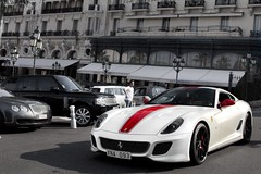 Red & White. (Alex Penfold) Tags: auto camera red white black france cars alex sports car sport mobile canon square french photography eos photo cool flickr riviera image sweden awesome flash stripe picture super swedish ferrari spot casino monaco exotic photograph spotted hyper gto carlo cote monte rims supercar spotting numberplate exotica sportscar sportscars supercars penfold 093 dazur 599 spotter 2011 xna hypercar 60d hypercars alexpenfold xna093
