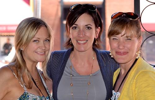 Laura, Jo-Lynne and Megan