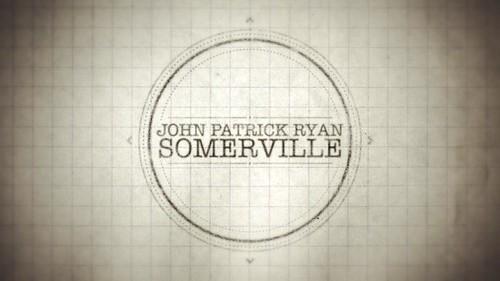 """John Patrick Ryan Somerville """"Stamp"""" Design"""