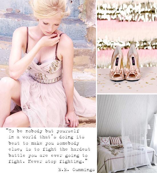 Pastel pink inspiration