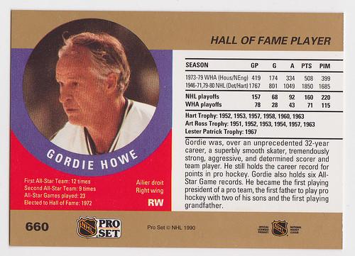 ps - Gordie Howe - Back