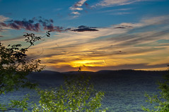Sunset Glow (Moniza*) Tags: sunset mountain newyork sunrise twilight nikon searchthebest dusk bearmountain explore valley d90 explored moniza photographerschoice~halloffame