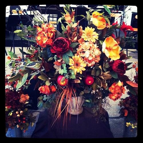 Fabulous faux flowers for fall festivities