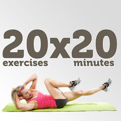 Fall Fit 20x20 Workout Challenge