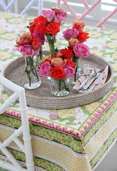 Peony Tablecloth 1