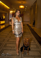 Hero Dog Awards 2011 - Ricochet & Tyana Alvarado at Beverly Hilton Hotel