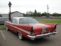 57 Chrysler New Yorker (DVS1mn) Tags: show cars car seven 1957 chrysler mopar 57 nineteen fifty wpc walterpchrysler pentastar chryslercorporation nineteenfiftyseven