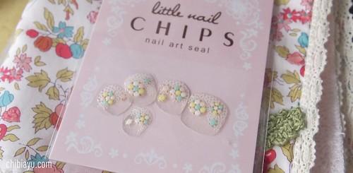 リトルネイルチップス ベルメゾン マンスリークラブ nail art seal