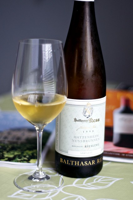 1998 Balthasar Ress Riesling Spatlese, Hattenheim Nussbrunnen