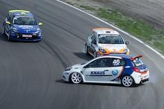Clio Cup crash