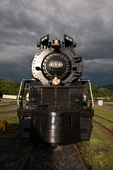 Stormy, Stormy Night (jpmueller99) Tags: rr trains steam co steamengine railroads 614