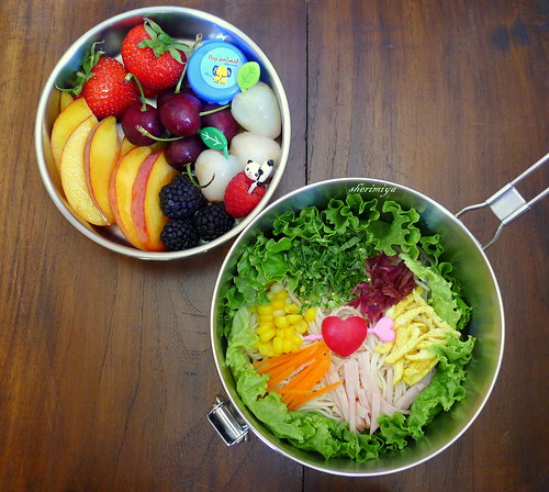 Somen Salad of Love Bento by sherimiya ♥