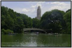 Bow Bridge (bemgalphotography) Tags: bridge centralpark bowbridge tiltshift tiltshiftminiaturefakes miniaturefake tiltshiftminiaturefake